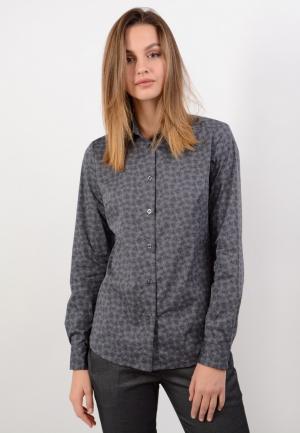 Рубашка Lino Russo. Цвет: серый