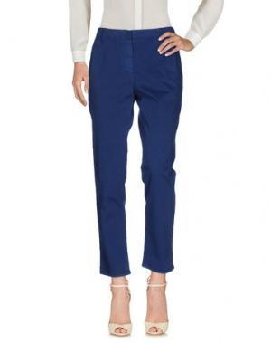 Повседневные брюки TRUE ROYAL. Цвет: синий