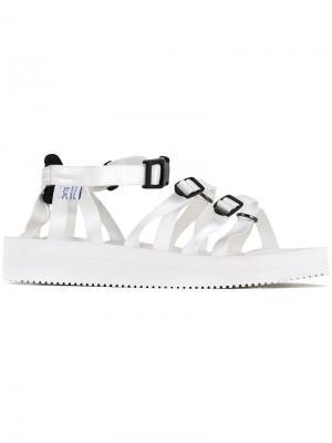 Tosshi sandals Suicoke. Цвет: белый