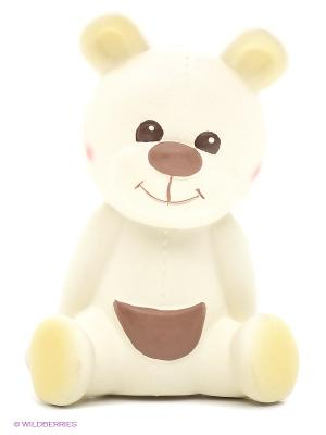 Развивающая игрушка каучук Медвежонок Габэн Sophie la girafe. Цвет: молочный