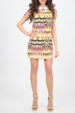 Платье Christina Dea. Цвет: мультицвет