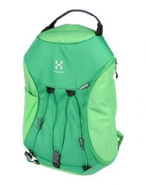 Рюкзаки и сумки на пояс HAGLÖFS. Цвет: светло-зеленый