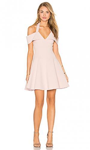 Платье sadie NICHOLAS. Цвет: румянец