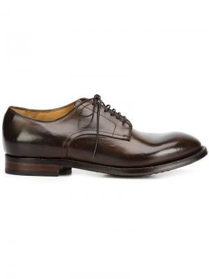 Ботинки Дерби William Officine Creative. Цвет: коричневый