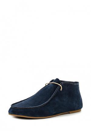 Ботинки Elita. Цвет: синий