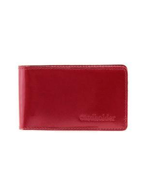 Кардхолдер/кредитница Вектор. Цвет: красный