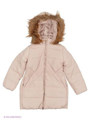 Куртка Mayoral. Цвет: бежевый