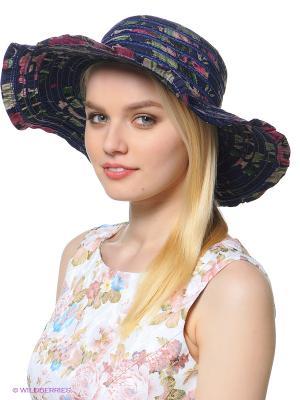 Шляпа Shapkoff. Цвет: темно-синий, зеленый