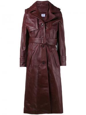 Belted trench coat Vetements. Цвет: розовый и фиолетовый