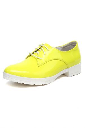 Туфли Libellen. Цвет: желтый