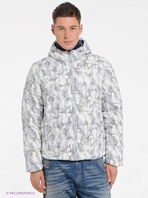 Куртка Bomboogie. Цвет: молочный, серый