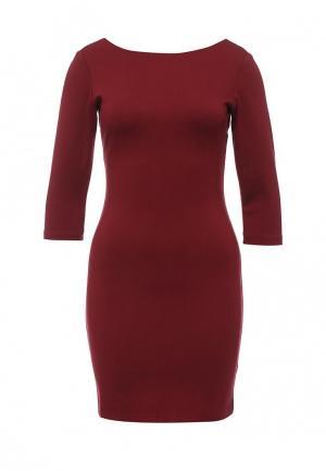 Платье Coco Nut. Цвет: бордовый