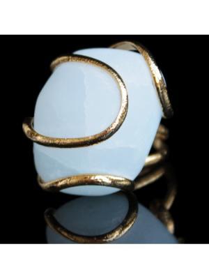 Кольцо Andrea Marazzini. Цвет: золотистый, светло-голубой