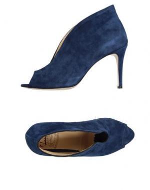 Туфли L'ARIANNA. Цвет: темно-синий