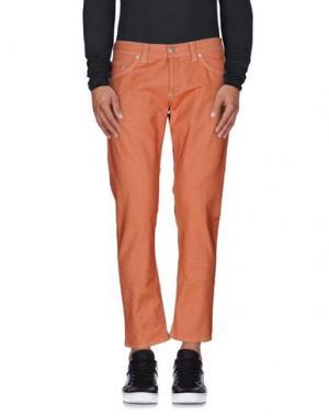 Джинсовые брюки DONDUP. Цвет: ржаво-коричневый