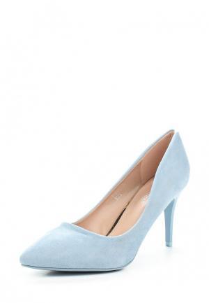 Туфли Ideal Shoes. Цвет: голубой