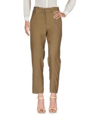 Повседневные брюки CHRISTIAN WIJNANTS. Цвет: хаки