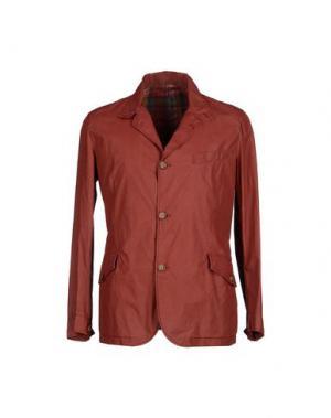 Пиджак MONTEDORO. Цвет: кирпично-красный