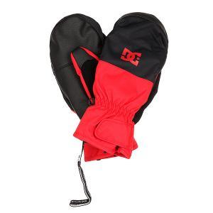 Варежки сноубордические DC Seger Racing Red Shoes 1160265