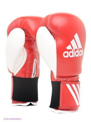 Перчатки боксерские Response Adidas. Цвет: красный