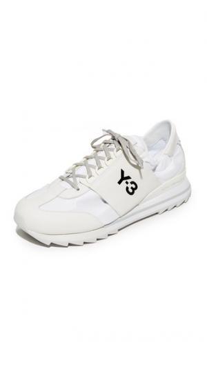 Спортивные кроссовки  Rhita Y-3. Цвет: белый кристалл/однотонный серый