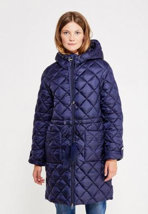 Куртка утепленная Odri Mio. Цвет: синий