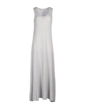 Длинное платье LABO.ART. Цвет: светло-серый