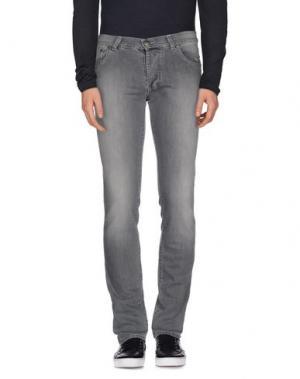 Джинсовые брюки RICHARD JAMES BROWN. Цвет: серый