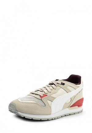 Кроссовки Puma. Цвет: бежевый