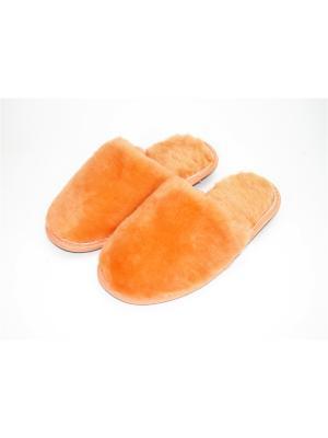 Тапочки Тефия. Цвет: оранжевый, светло-оранжевый