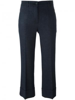 Укороченные брюки  LAutre Chose L'Autre. Цвет: синий
