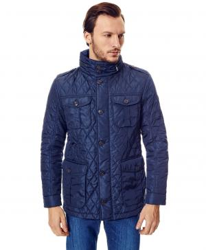 Куртка  JK-0155 NAVY HENDERSON. Цвет: синий