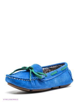 Мокасины Dino Ricci. Цвет: синий