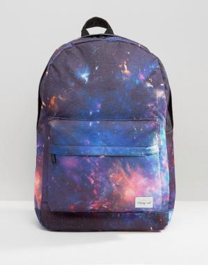 Spiral Черный рюкзак Galaxy. Цвет: черный