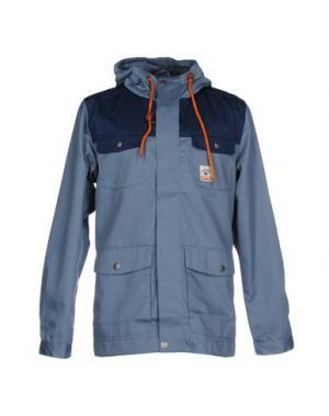 Куртка ENCORE. Цвет: грифельно-синий