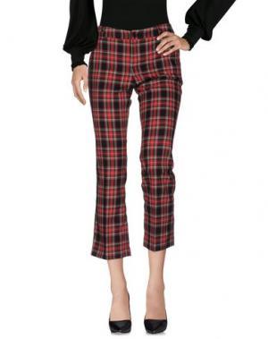 Повседневные брюки LA ROSE. Цвет: красный
