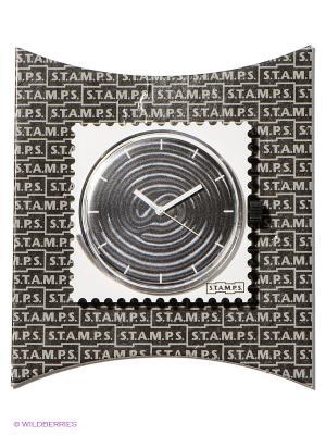 Часы S.T.A.M.P.S.. Цвет: белый, черный