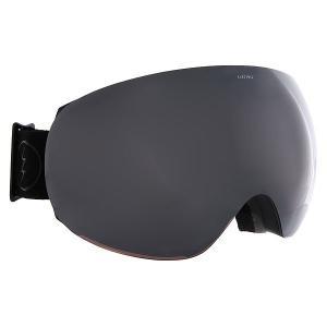 Маска для сноуборда  Eg3 Matte Black+Black/Brose/Silver Chrome Electric. Цвет: черный