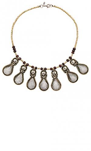Ожерелье drops of ice Natalie B Jewelry. Цвет: металлический серебряный