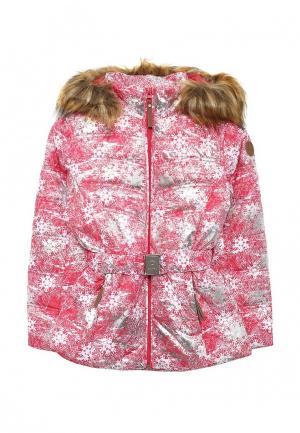 Куртка утепленная Luhta. Цвет: разноцветный