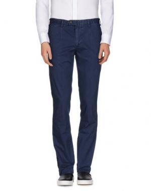Повседневные брюки EREDI RIDELLI. Цвет: темно-синий