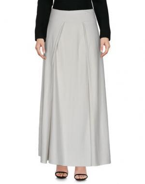 Длинная юбка LABO.ART. Цвет: белый