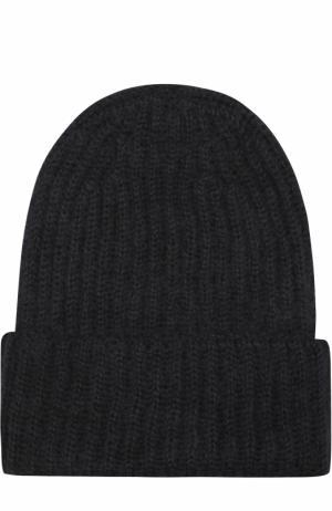 Вязаная шапка Tak.Ori. Цвет: черный