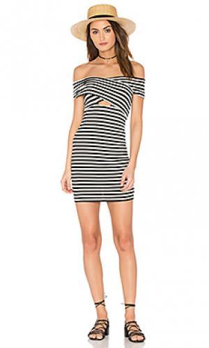 Платье mindy Clayton. Цвет: black & white