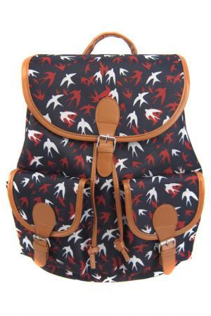 Рюкзак Ласточки Creative. Цвет: темно-синий