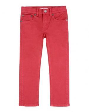 Джинсовые брюки BURBERRY CHILDREN. Цвет: пурпурный