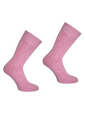 Носки, 2 пары Master Socks. Цвет: розовый