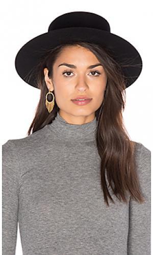 Шляпа klein KIN/K. Цвет: черный