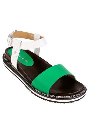 Туфли летние Deimille. Цвет: зеленый