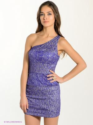 Платье bebe. Цвет: фиолетовый